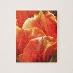 Tulipán en el fuego puzzles con fotos