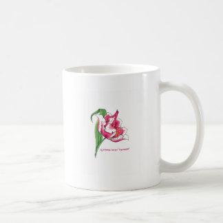 Tulipán musical taza