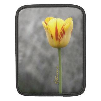 Tulipán precioso fundas para iPads