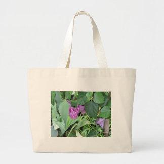 Tulipán púrpura bolsa