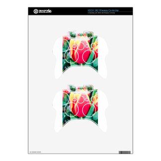 ¡Tulipán rojo - personalizable! Mando Xbox 360 Skin