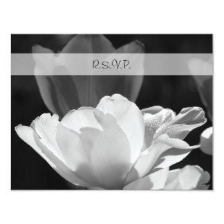 Tulipán RSVP de la primavera que casa la Anuncio Personalizado