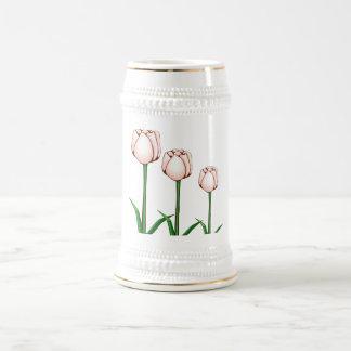 Tulipán Stein Jarra De Cerveza