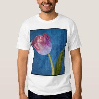 Tulipán texturizado camisas
