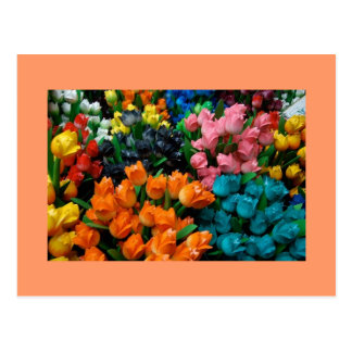 Tulipanes a montones tarjetas postales