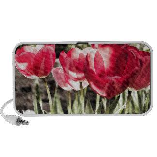 Tulipanes Mini Altavoces