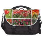 Tulipanes coloridos bolsas para ordenador
