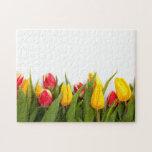 Tulipanes coloridos rompecabezas
