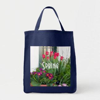 Tulipanes de 1 primavera bolsa de mano