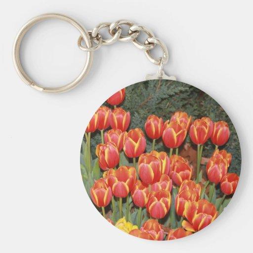 ¡Tulipanes de Bloomin! Llaveros Personalizados