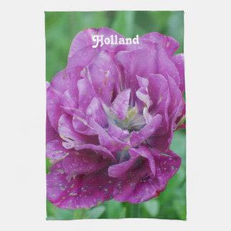 Tulipanes de Holanda Toalla De Cocina