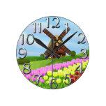 Tulipanes de Holanda Relojes