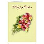 Tulipanes de Pascua Felicitaciones