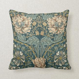 Tulipanes de William Morris - almohadas del vintag