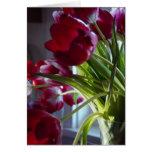 Tulipanes del cumpleaños tarjetas
