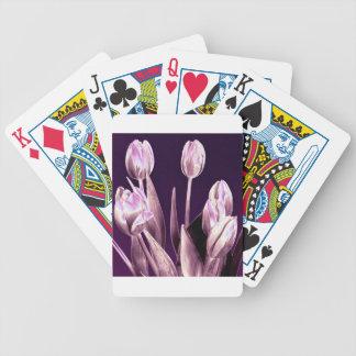 Tulipanes elegantes Violetas