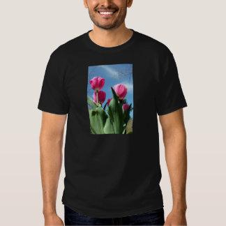 Tulipanes elevados camisas