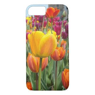 Tulipanes en el caso del iPhone 7 de la brisa Funda iPhone 7