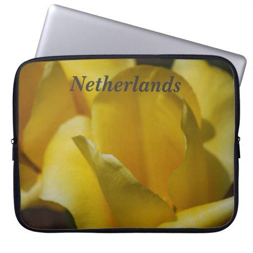 Tulipanes en los Países Bajos Manga Computadora