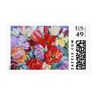 Tulipanes formados 2003 sellos