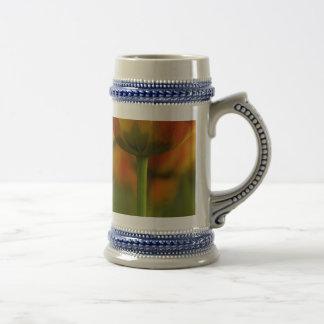 tulipanes jarra de cerveza