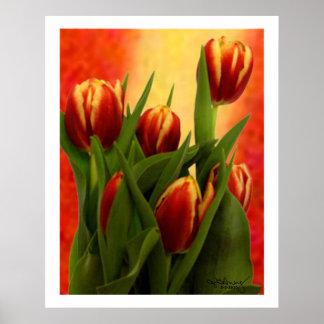 Tulipanes - jGibney 2010 los regalos de Zazzle del Posters