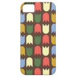 tulipanes modernos en el caso iPhone5 iPhone 5 Case-Mate Cárcasa