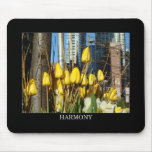 Tulipanes Mousepad de la armonía Tapete De Ratones