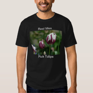 Tulipanes púrpuras playeras