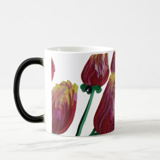 Tulipanes Quilled #1 - taza morphing