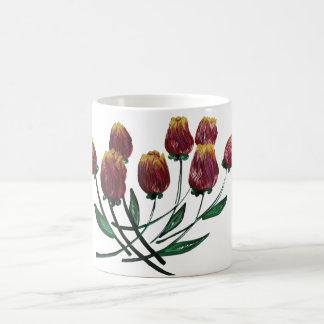 Tulipanes Quilled morphing la taza