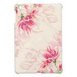 Tulipanes rosados de la acuarela iPad mini protectores