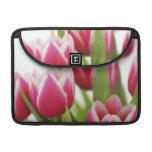 Tulipanes rosados funda macbook pro