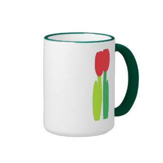 Tulipanes Taza A Dos Colores