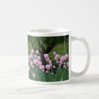 tulipanes y el árbol taza clásica