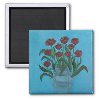 tulipiere 2 inch square magnet