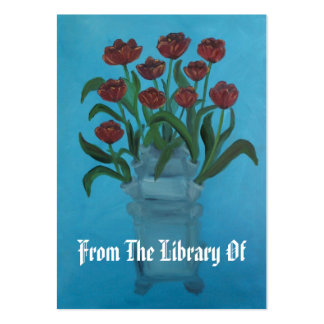 Tulipiere Book Plate Large Business Card