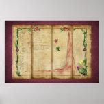 Tulipomania Graph (byzantium) Print