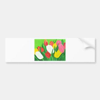 Tulips2 Bumper Sticker