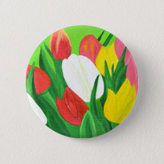 Tulips2 Pinback Button