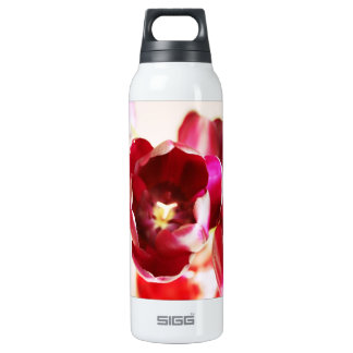 """Tulips"" 16 Oz Insulated SIGG Thermos Water Bottle"