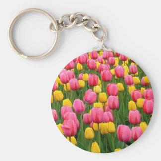 Tulips 1 Keychain