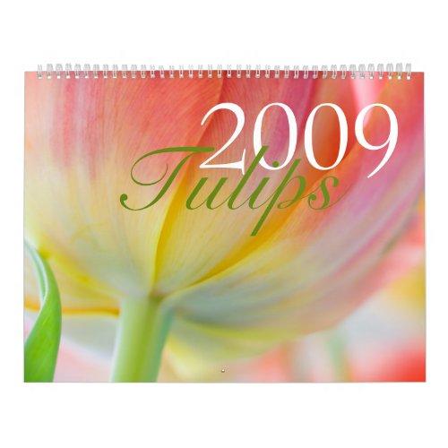 Tulips 2009 Calendar calendar