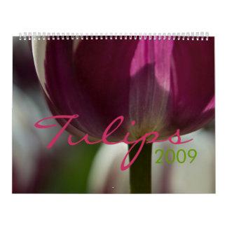 Tulips 2009 Calendar