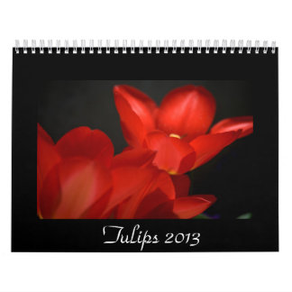 Tulips 2013 calendar