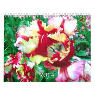 Tulips 2014 Calendar