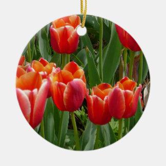 tulips 3 mf christmas ornaments