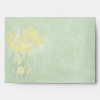 Tulips 5 x 7 Envelope