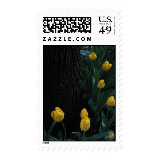 Tulips #6 postage stamps