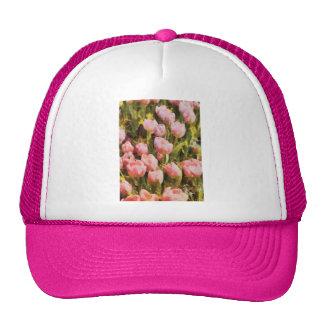 Tulips - A field of pink Trucker Hat